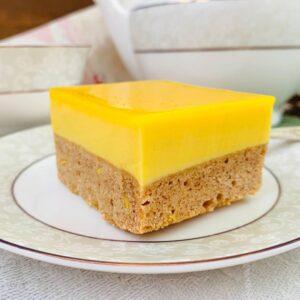 Веганское «Лимонное пирожное»
