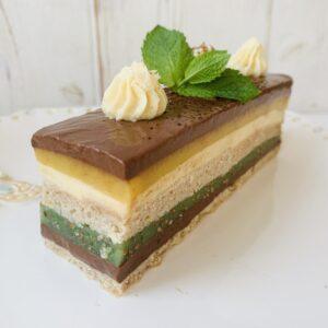 ПП-пирожное «Манго-шоколад»