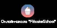 лого с текстом белый